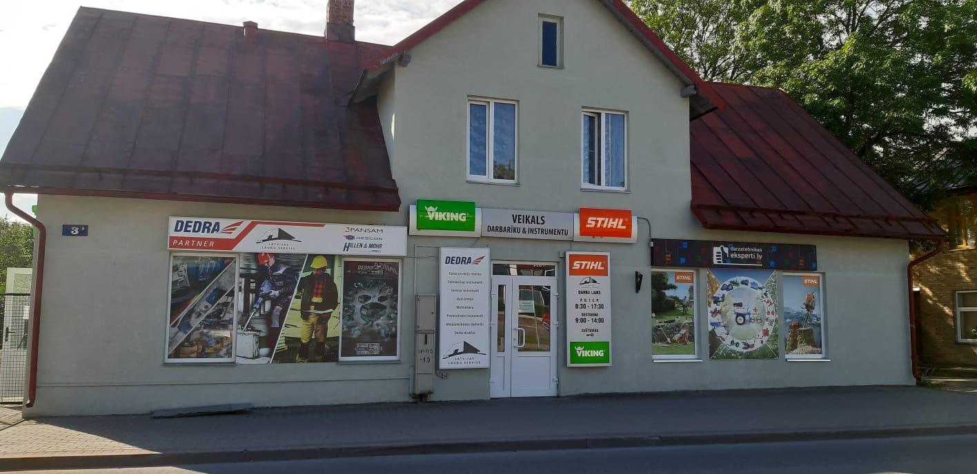 Latvijas lauku serviss veikals Madonā